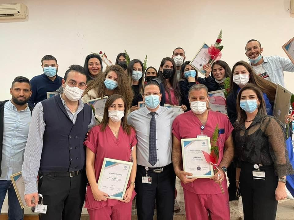 Staff Awards At The Nazareth Hospital